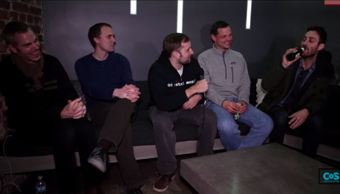 CoS Exclusive Filmed Interview w/ American Football
