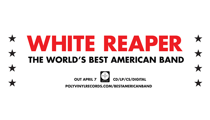 White Reaper Announces New Album 'The World's Best American Band'; Releases New Lyric Video For 'Judy French'