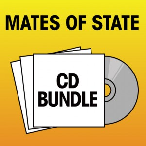 Pick 2 Mates of State CDs Bundle