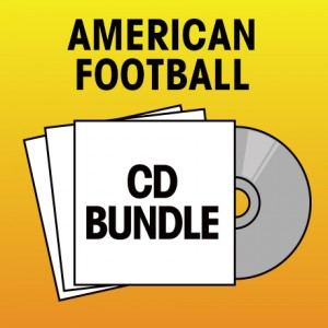 Pick 2 American Football CDs Bundle