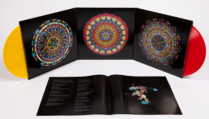of Montreal's deluxe reissue of Hissing Fauna, Are You The Destroyer? is officially out now!