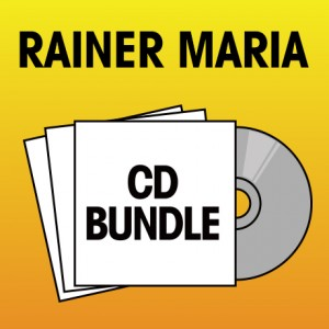 Pick 3 Rainer Maria CDs Bundle