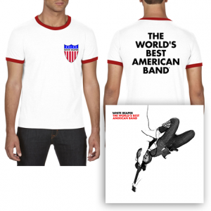 The Worlds Best American Band  Crest T-Shirt