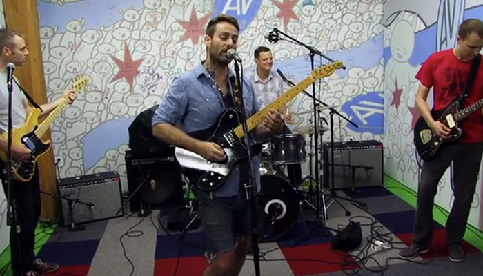 American Football Covers Elvis Costello for The A.V. Club