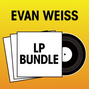 Pick 2 Evan Weiss LPs Bundle