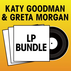 Pick 2 Katy Goodman  Greta Morgan LPs Bundle
