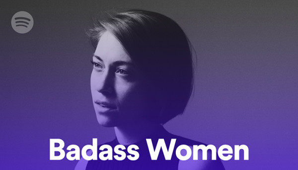 Anna Burch is the cover of Spotify's Badass Women playlist +
