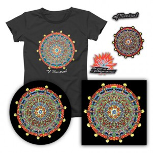 Hissing Fauna Are You the Destroyer  T-Shirt  3 Enamel Pin Set  12 Slipmat