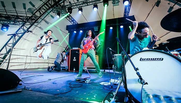 Deerhoof Announces Live Album - Fever 121614