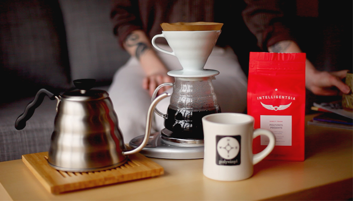 Polyvinyl x Intelligentsia: Good Coffee For All You Good People