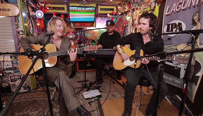 Watch Diane Coffee perform a live session at Jam In The Van