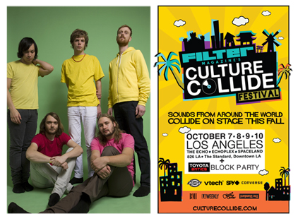 Casiokids to Play Filter's Culture Collide Festival