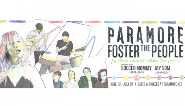 Jay Som will join Paramore & Foster The People on tour in July!!