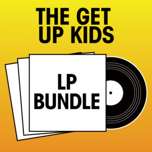 Pick 3 The Get Up Kids LPs Bundle