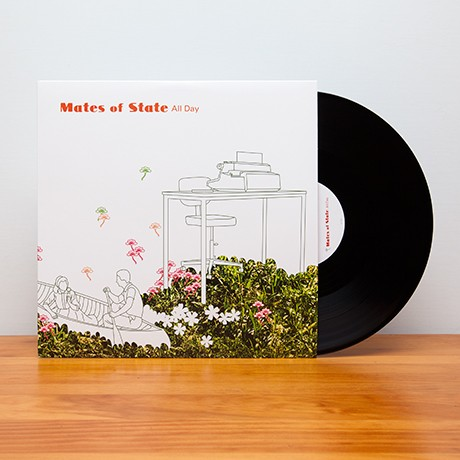 Mates of State - All Day - Merch - Polyvinyl Records