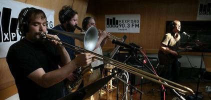 Listen to The M's Live Performance on KEXP