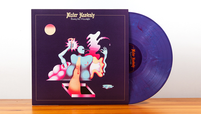 Happy Release Day to Mister Heavenly's 'Boxing the Moonlight'!!