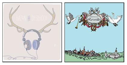 New Deerhoof / David Bazan Split 7