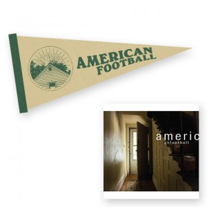 American Football LP2  Born to Lose Pennant