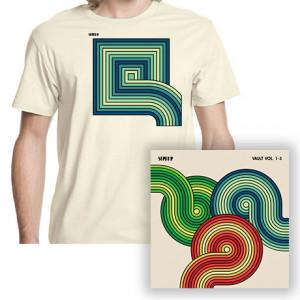Vault  Concentric Squares T-Shirt