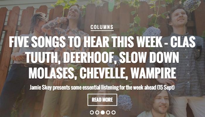 Q Magazine Recommends New Deerhoof & Wampire Songs