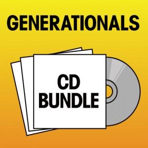 Pick 2 Generationals CDs Bundle