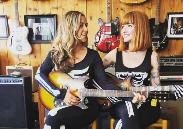 "Hear Katy Goodman & Greta Morgan Cover ""Where Eagles Dare"" (The Misfits)"
