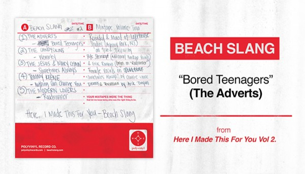 Beach Slang Announces Here, I Made This For You (Beach Slang Mixtape Vol. 2)