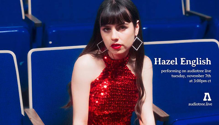 Hazel English will be live on Audiotree today from 3-4pm CST!