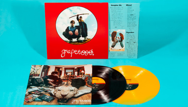 Grapetooth's debut album has arrived in all it's dance till you drop glory