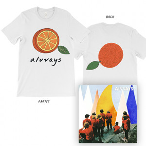 Antisocialites  Half Orange T-Shirt