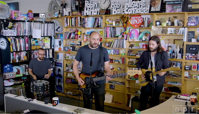 Watch Pedro The Lion's 'quietly crushing' Tiny Desk Concert on NPR