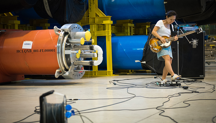 Deerhoof vs. CERN's Large Hadron Collider