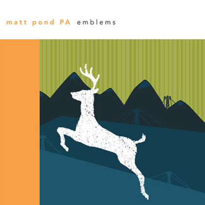 matt pond PA Emblems Vinyl Out Now!