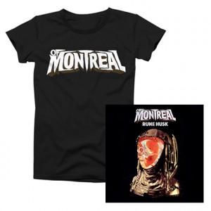 Rune Husk  of Montreal Logo T-Shirt