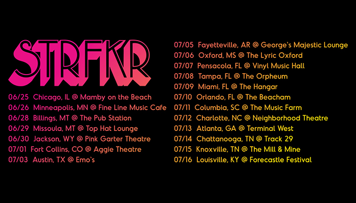 STRFKR Announces New North American Tour Dates