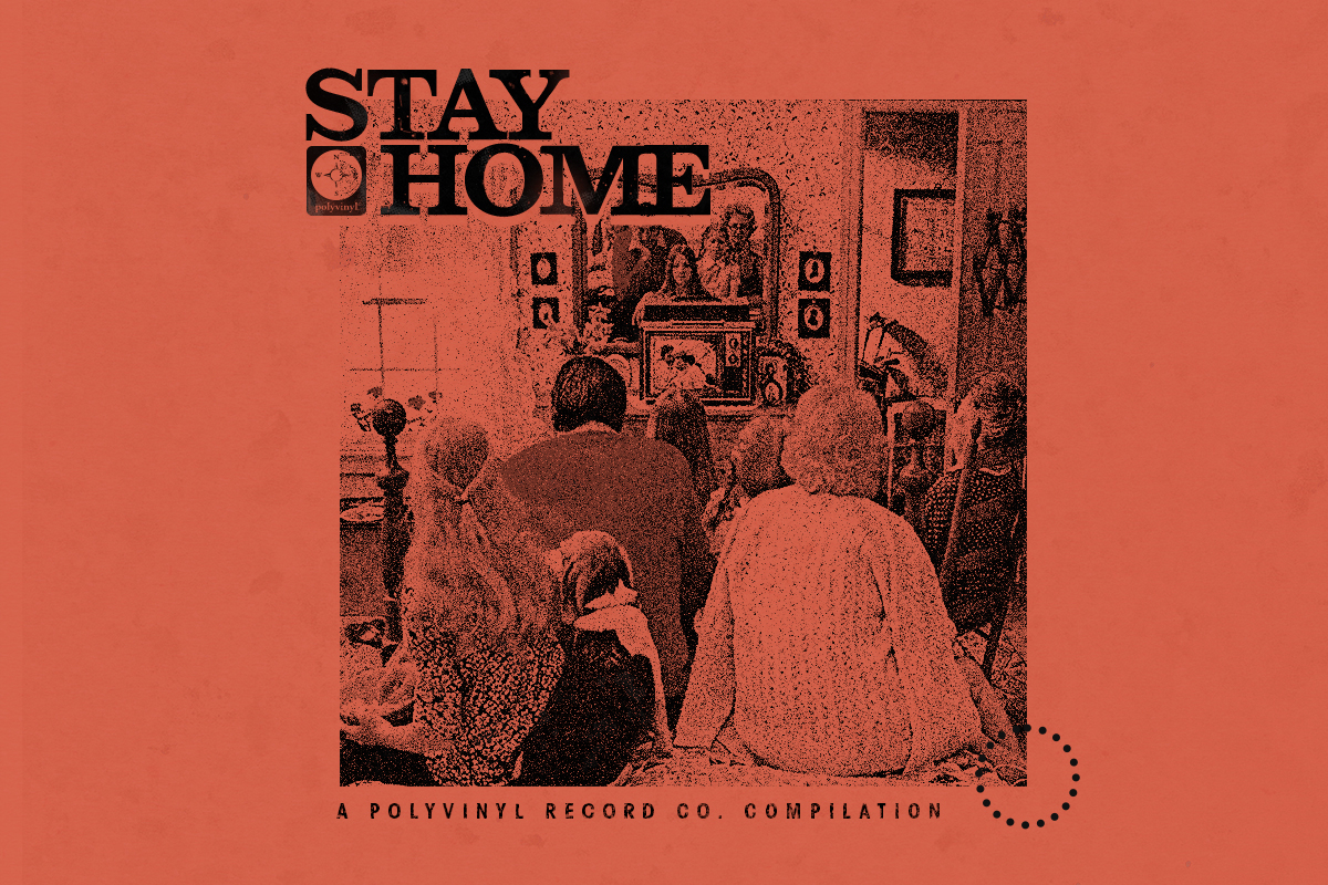 Polyvinyl announces Stay Home, a 16-track compilation featuring new and unreleased music