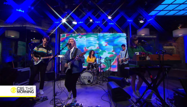 Alvvays share new tour dates with Snail Mail & Hatchie + watch their recent performance on CBS Saturday Morning