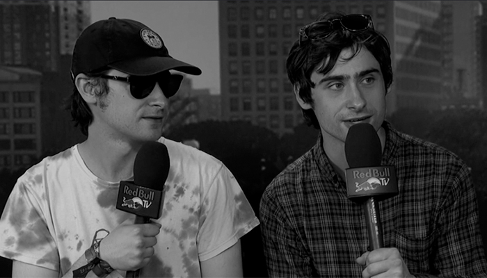White Reaper interviewed by Red Bull TV at Lollapalooza