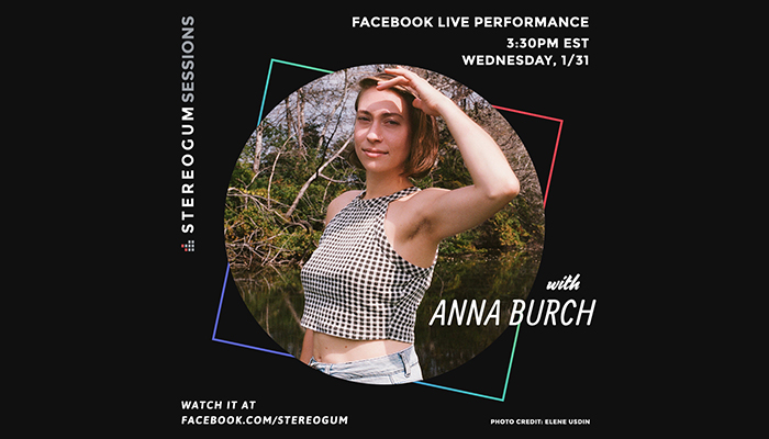 Anna Burch crushed two live solo sets @ Stereogum Studios + NYLON in New York