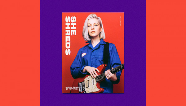 Molly Rankin from Alvvays lands the covers of She Shreds Magazine Issue #14
