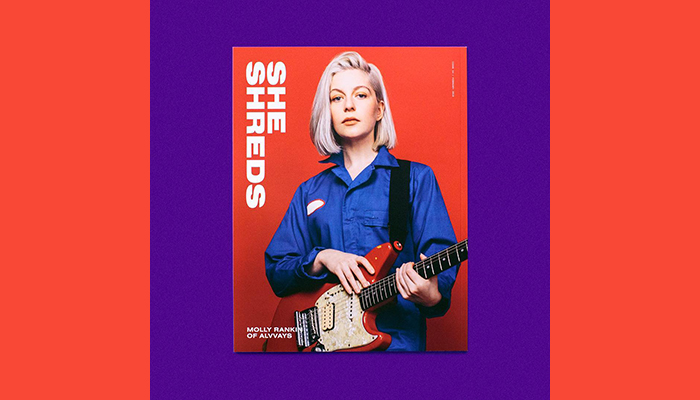 Molly Rankin from Alvvays lands the cover of She Shreds Magazine Issue #14