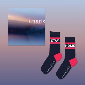 American Football LP3  Stay Home Socks