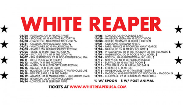 White Reaper announce fall tour!