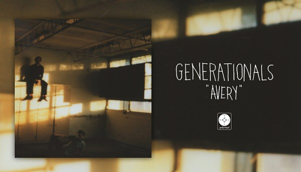 "Generationals Share New Single ""Avery""; On Tour Across The US Now!"