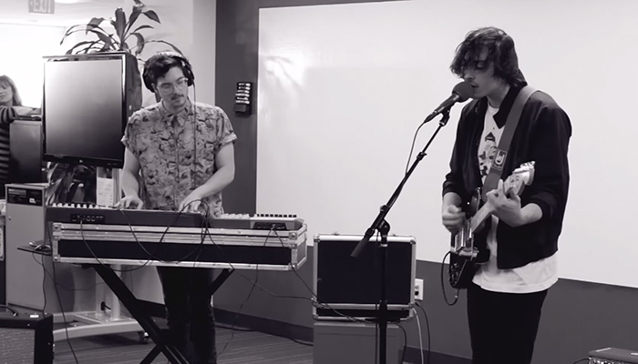 Watch Painted Palms Live on Pandora Whiteboard Sessions