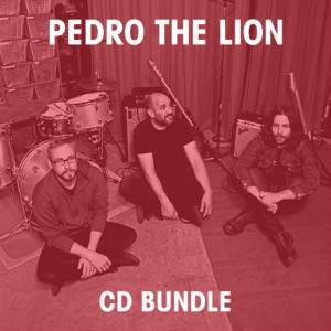 Pick 3 Pedro The Lion CDs Bundle