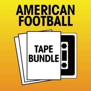 Pick 2 American Football Tapes Bundle