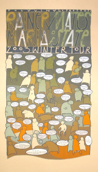 2003 Winter Tour Poster