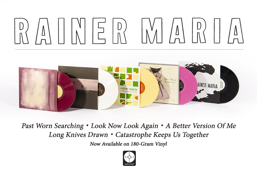 Rainer Maria Vinyl Reissues